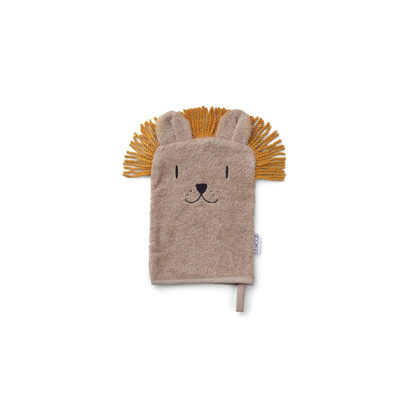 sylvester washcloth 3pack - lion mix 獅子有機棉洗澡毛巾