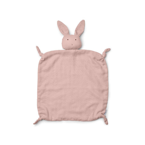 agnete cuddle cloth - rabbit rose 粉紅小兔安撫巾