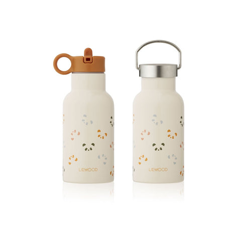(pre-order) anker water bottle - 350 ml - panda sandy multi mix