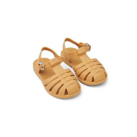 bre beach sandals - yellow mellow