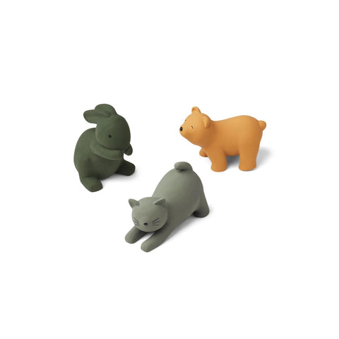 david toys 3pack - green multi mix