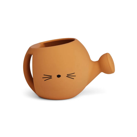 (pre-order) lyon watering can - cat mustard
