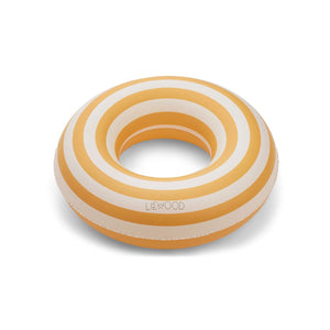 baloo swim ring - stripe-yellow mellow/creme de la crème 黃色間條游泳圈