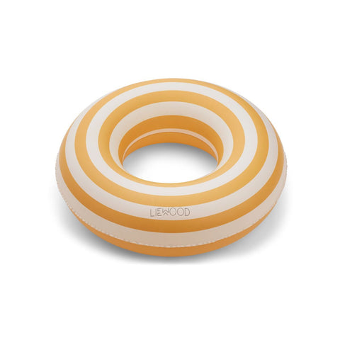 (pre-order) baloo swim ring - stripe-yellow mellow/creme de la crème 黃色間條游泳圈