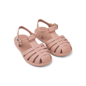 bre beach sandals - dark rose