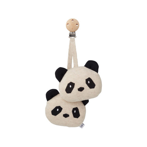 rosa pram toy - panda beige beauty 熊貓造型嬰兒車玩具