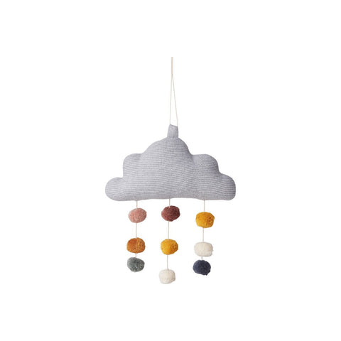 mimi cloud mobile - grey melange
