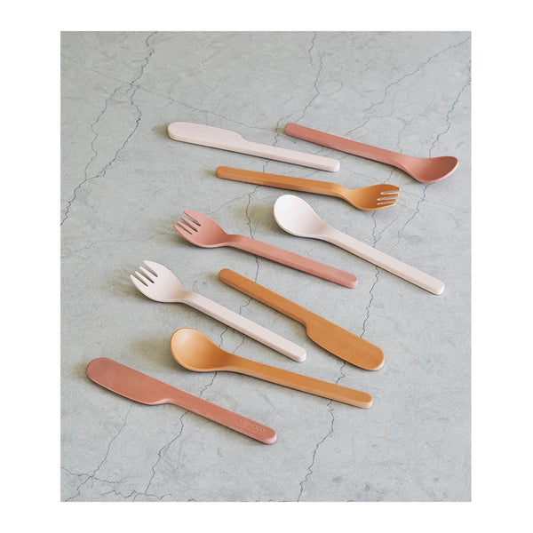 frederikke cutlery set 9 pack - rose multi mix 玫瑰刀具套裝 (9件裝)