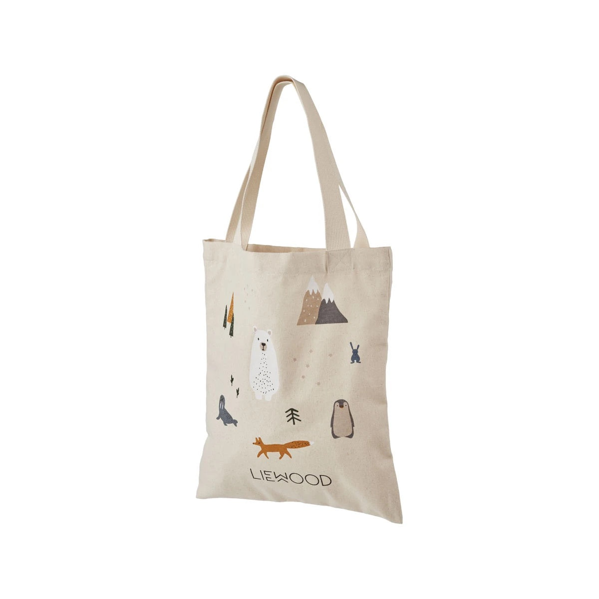 tote bag small - arctic mix