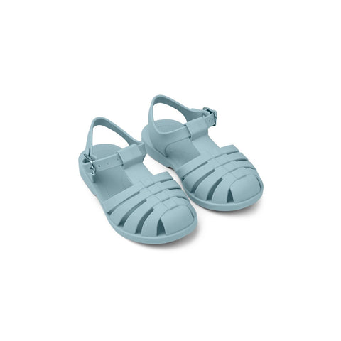 (pre-order) bre beach sandals - sea blue