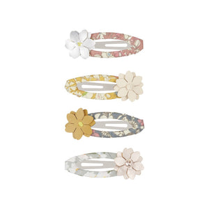 meadow floral clic clacs / a set of 4 草原花花髮夾 (4件裝)
