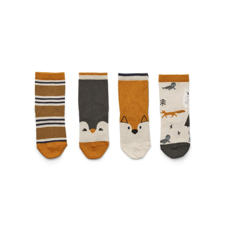 silas socks 4 pack - arctic mix