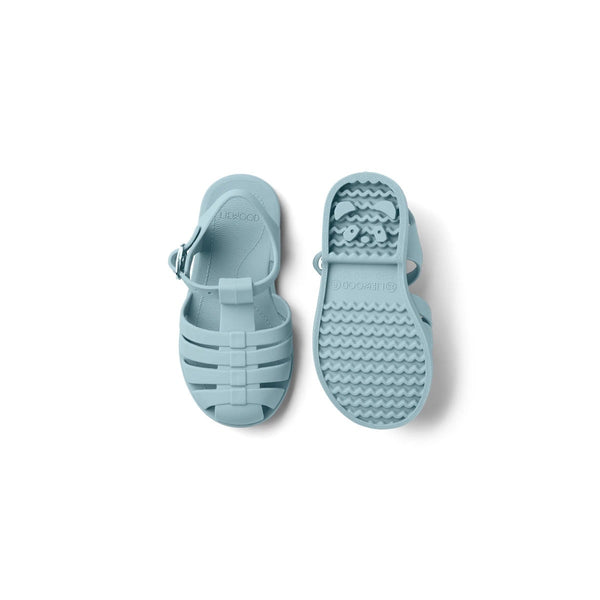 bre beach sandals - sea blue