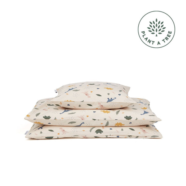 carmen bed linen baby - dino mix 恐龍圖案嬰兒寢具套裝
