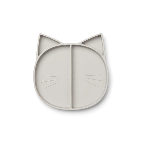 maddox multi plate - cat dumbo grey 灰色貓咪餐碟