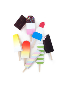 paper ice lollies 紙製冰條玩具