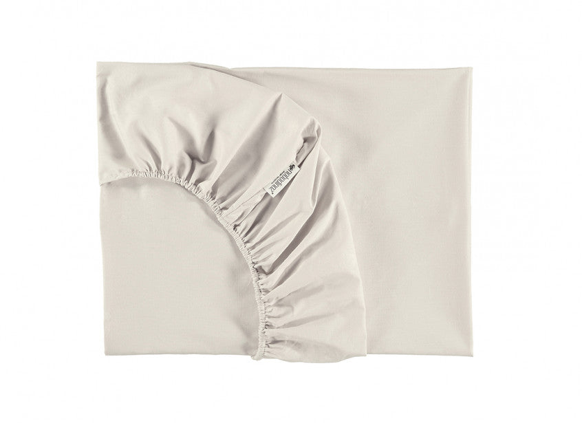 Drap housse alhambra natural