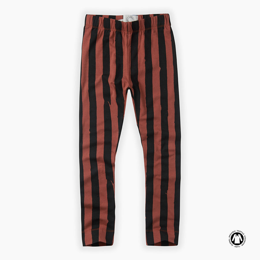 Legging Painted Stripes - Mango