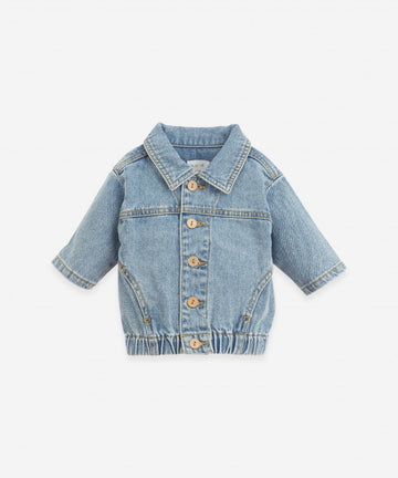 PLAY UP - 1AI11401 Veste Denim Avec Boutons - Denim