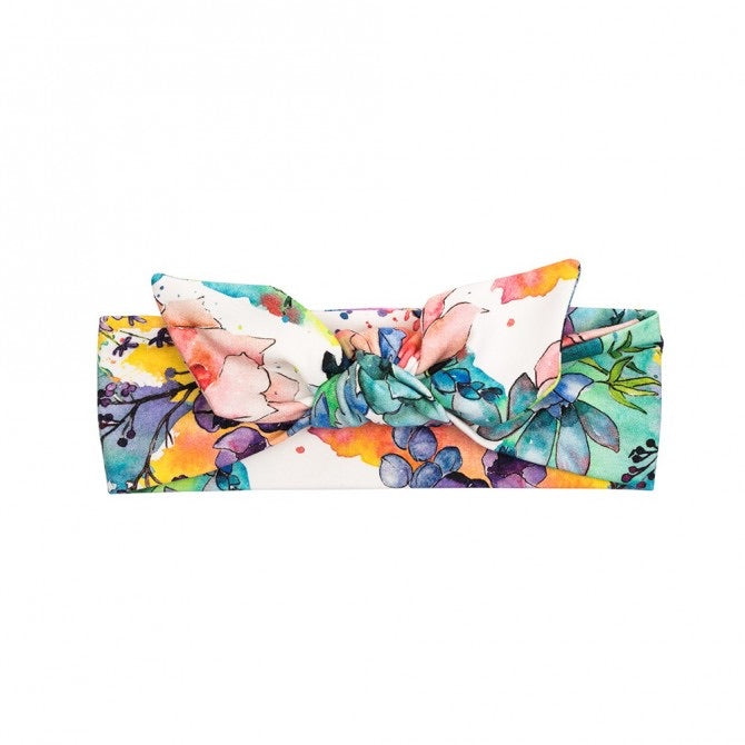 Bandeau ULKA - Watercolor flowers
