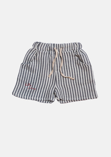 Short Atletico - Striped Blue