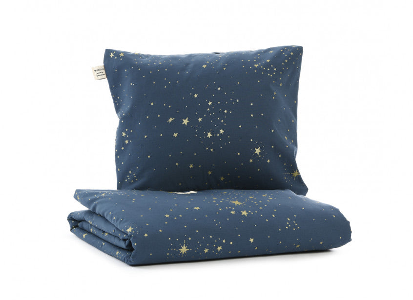 Housse de couette Himalaya - Gold Stella/Night Blue - LCB