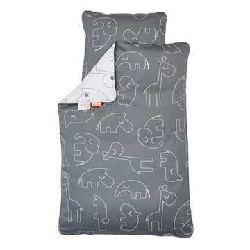 DONE BY DEER - Housse de couette Sleepy - Grey - LCB