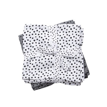 Pack de 2 tétras - Happy Dots Grey