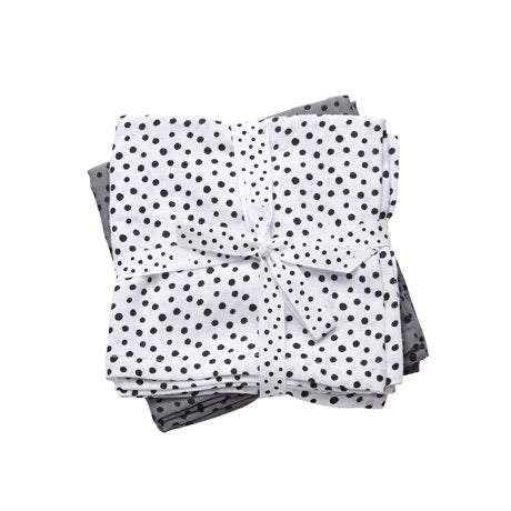 Pack de 2 tétras - Happy Dots Grey - LB