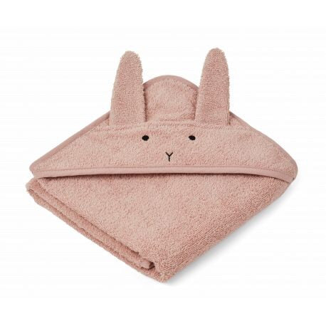 Cape de bain Albert - Rabbit rose - LB