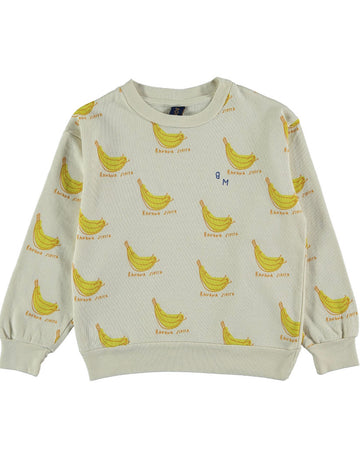 BONMOT - Banana Siesta Sweat - Ivory