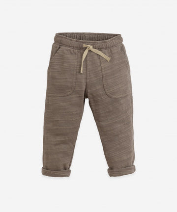 PLAY UP - 3AI11600 Pantalon Flamé Jersey - Pinha