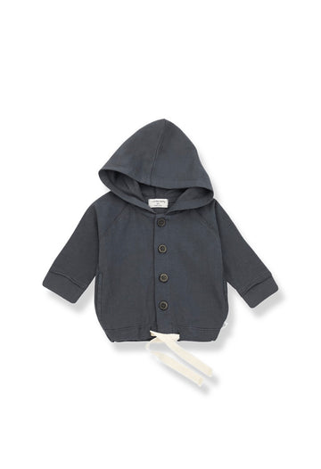 ONE + IN THE FAMILY - Otto Veste à Capuche - Anthracite