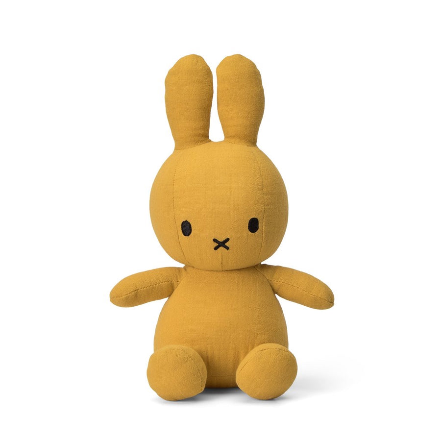 BONTON -Peluche Miffy - Mousseline - Yellow - JX