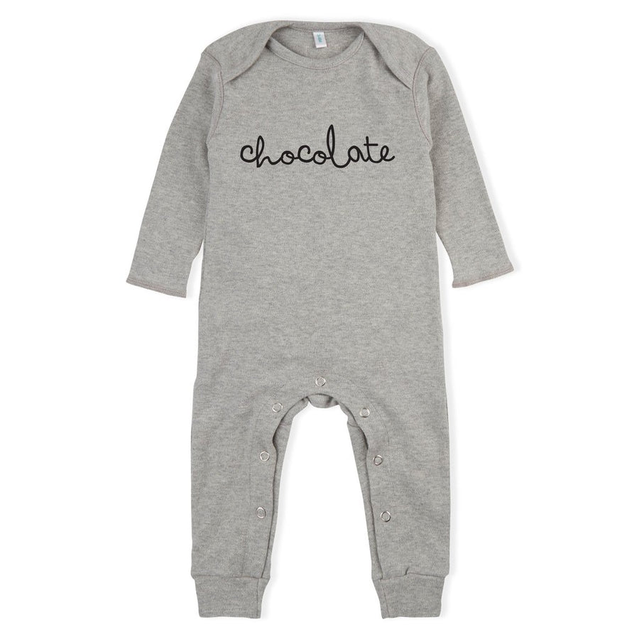 ORGANIC ZOO - Pyjama Chocolate - Grey