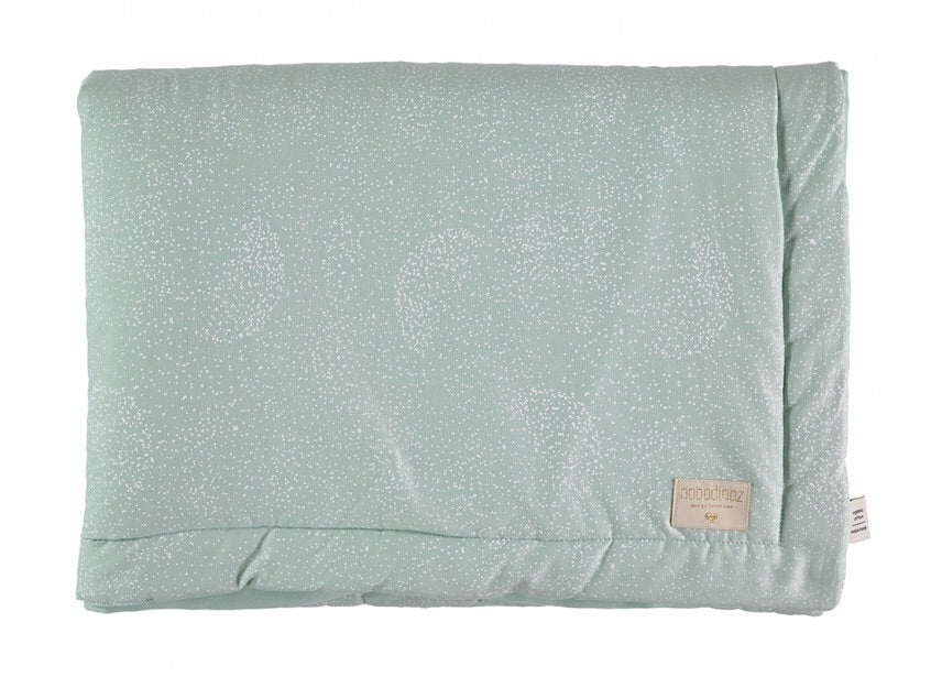 Couverture Laponia mini - White bubble aqua - LCB