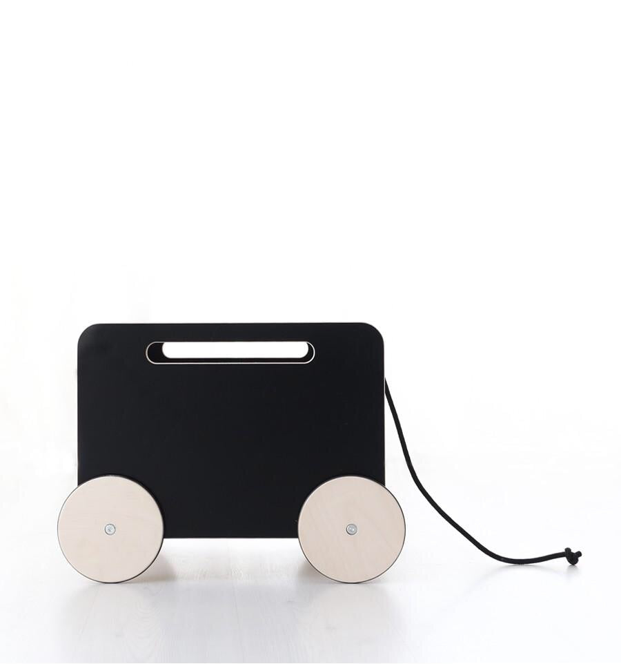 Rangement toy chest on wheel - Black - LCB
