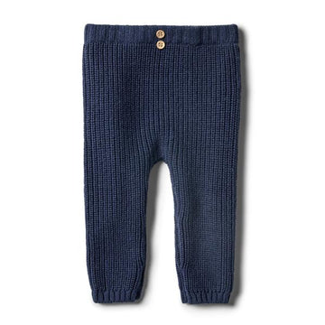Legging Knitted - Twilight Blue