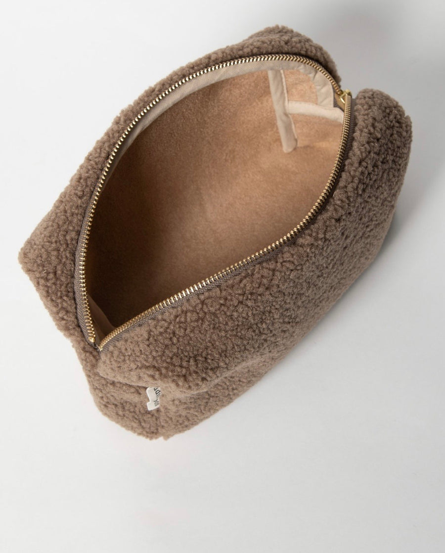 STUDIO NOOS - Trousse de toilette Chunky - Brown Teddy - LB