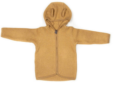 HUTTELIHUT - Jackie Baby Jacket With Ears - Ocre