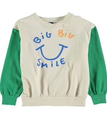 BONMOT - Big Smile Sweat - Green