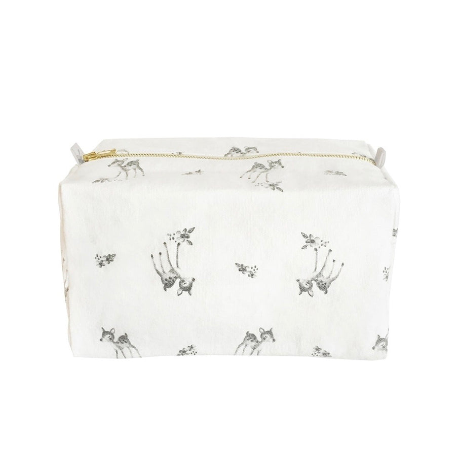 ROSE IN APRIL - Trousse de toilette Vic - Faon blanc - LB