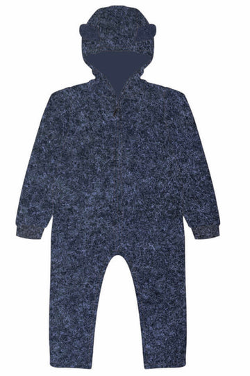 HUTTELIHUT - Allie Baby Suit w/ears - Navy