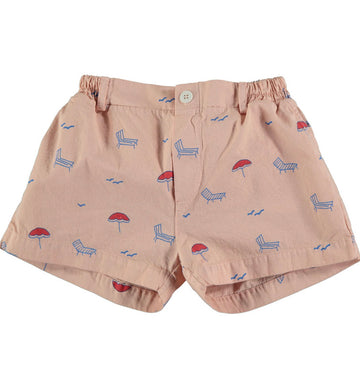 BONMOT ORGANIC - Button Sun beds Short - Dusty Pink