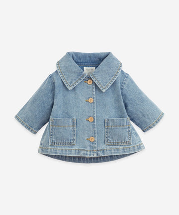 PLAY UP - 2AI11400 Veste Denim Avec Poches - Denim