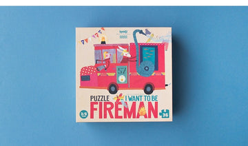 LONDJI - Puzzle I want to be a fireman - JX