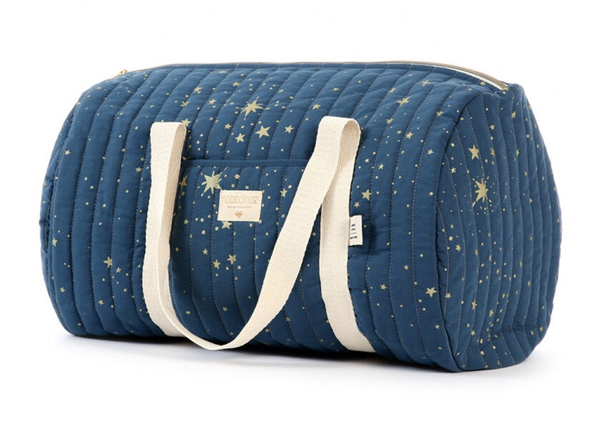 Sac weekend New York - Gold stella/night blue
