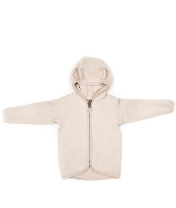 HUTTELIHUT - Jackie Baby Jacket With Ears - Camel