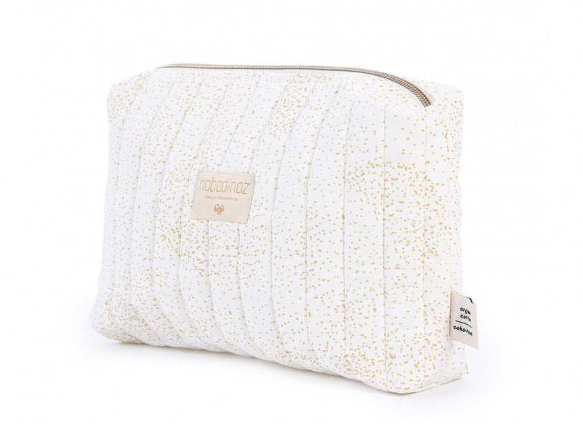 Trousse de toilette Vanity - Gold Bubble/White