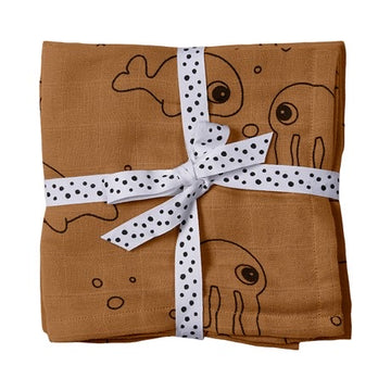 Pack de 2 tétras - Sea Friends mustard